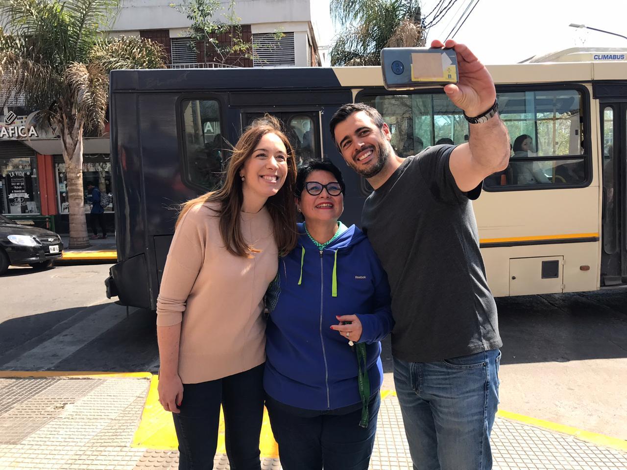 Escracharon a la Gobernadora Vidal hoy en Ituzaingó