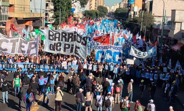 Una crisis que golpea al Pueblo: hoy habrá movilizaciones, acampes y cortes de ruta en todo el País