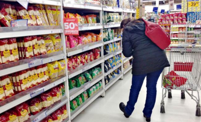 El supermercado SUGO entraría en la ley de góndolas. Diferencias en la superficie 7