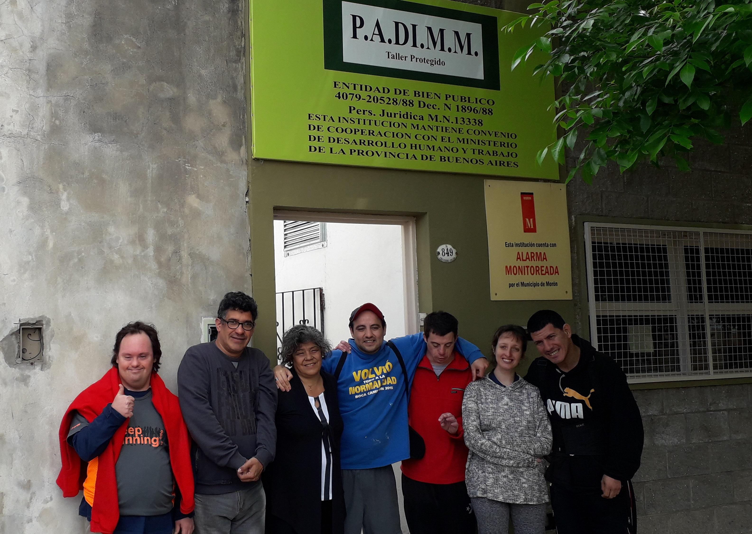 PADIMM Morón: un espacio de integración para jóvenes con discapacidad mental