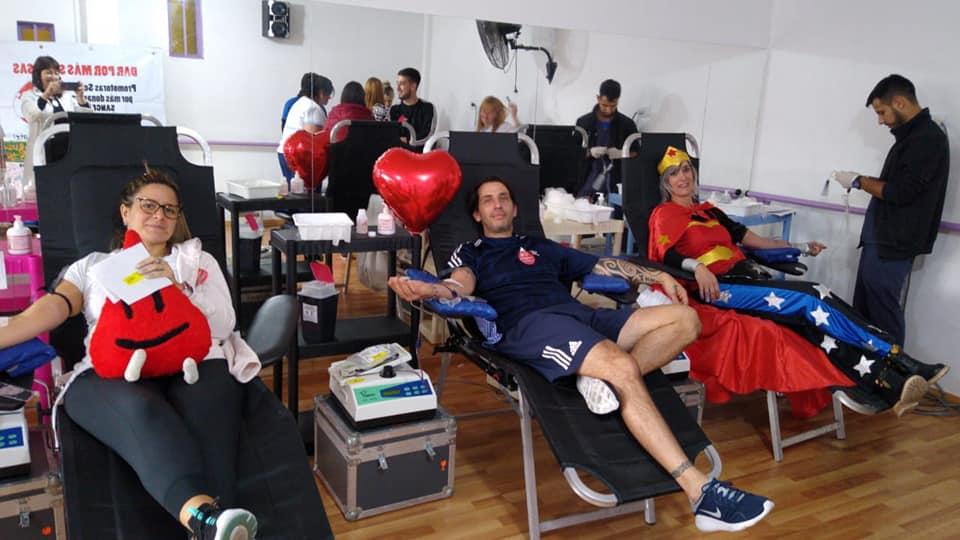 Jornadas de donación de sangre y registro de médula ósea en distintas localidades del oeste