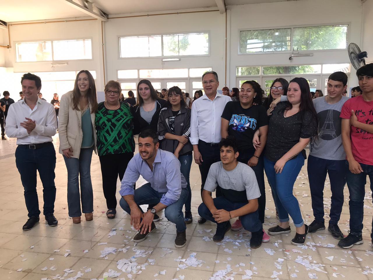 A 10 días de terminar su gobierno, María Eugenia Vidal visitó Ituzaingó