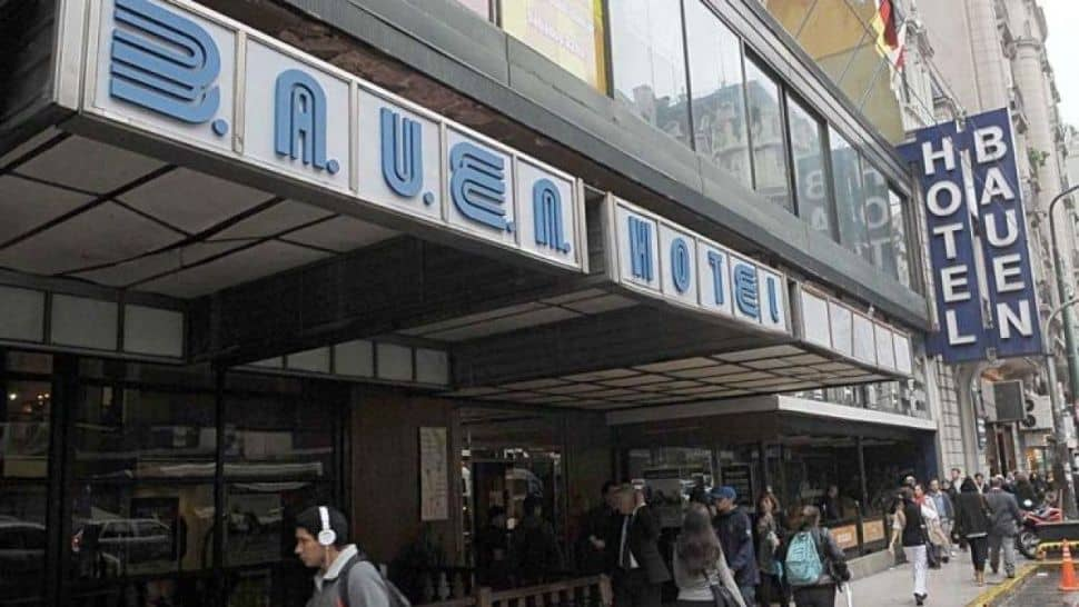 El Hotel Bauen otra vez con orden de desalojo
