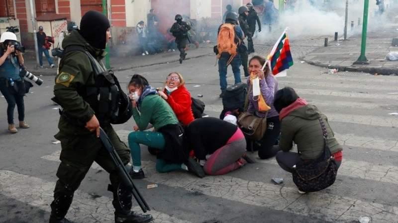 Bolivia: Las FFAA toman el control y los eximen de responsabilidad por las muertes de civiles