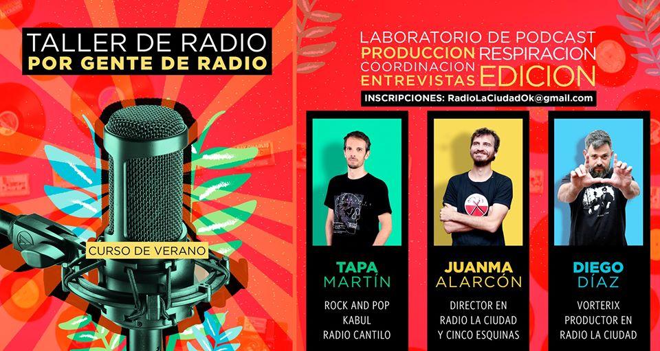 Taller de Radio en La Ciudad