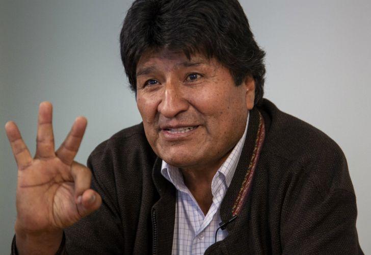 Evo Morales llegó a nuestro País y pediría asilo político