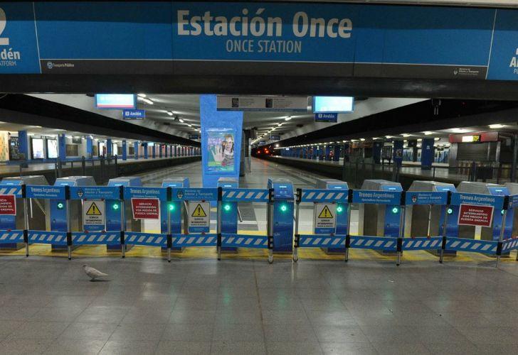 Urgente: EL Sarmiento vuelve a suspender el servicio