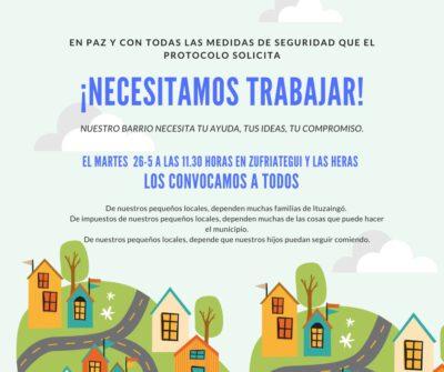 Ituzaingó: sin diálogo con el Municipio, un grupo numeroso de comerciantes se moviliza el martes 2