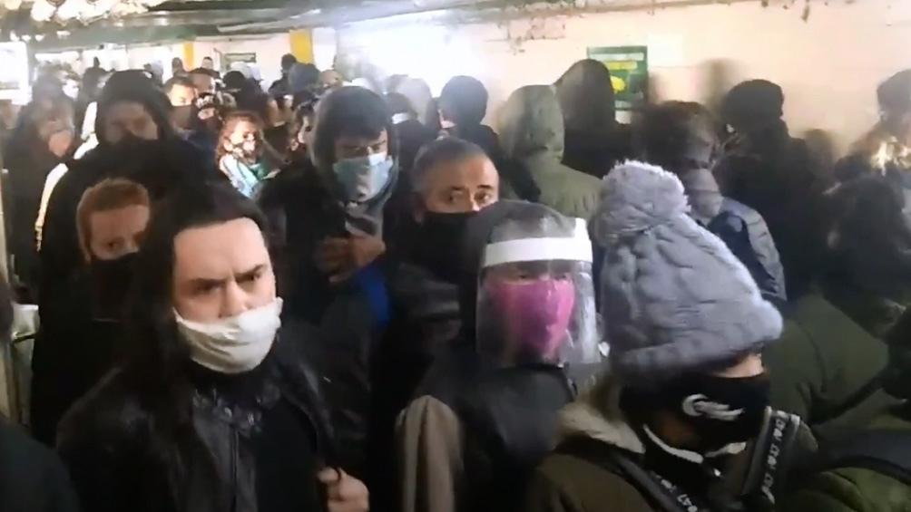 Después de lo del túnel de Merlo, el Sarmiento agiliza la llegada a los andenes