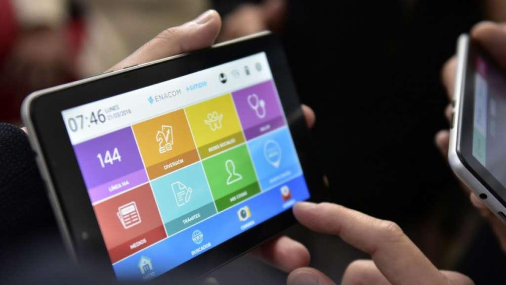 Se amplía la entrega gratuita de Tablet a más beneficiarios