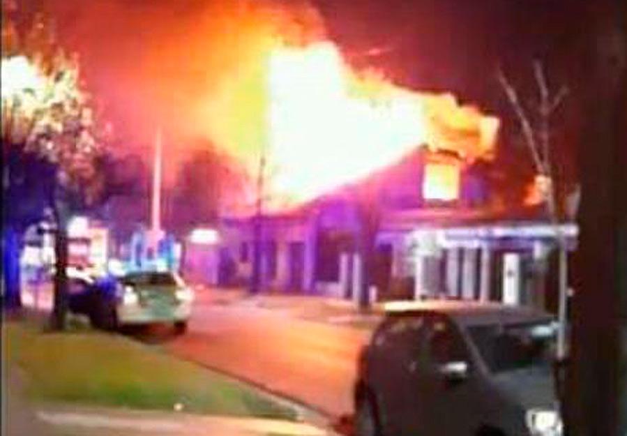 Ituzaingó: cuatro incendios en un día