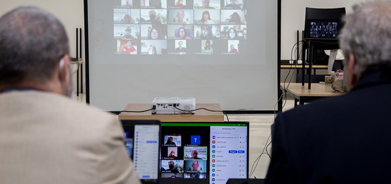 La UNAHUR presentó la extensión de 'Aula Abierta' para estudiantes de la educación pública