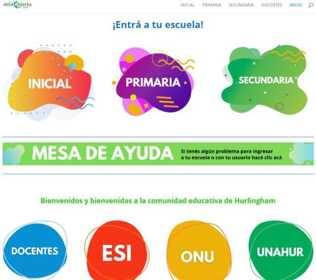 La UNAHUR presentó la extensión de 'Aula Abierta' para estudiantes de la educación pública 1