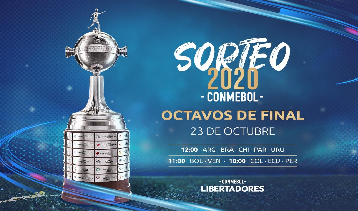Copa Libertadores: día y hora del sorteo de los octavos